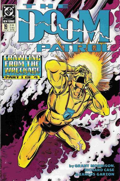 The Doom Patrol no. 191, debut Grant Morrison sebagai penulis seri ini.