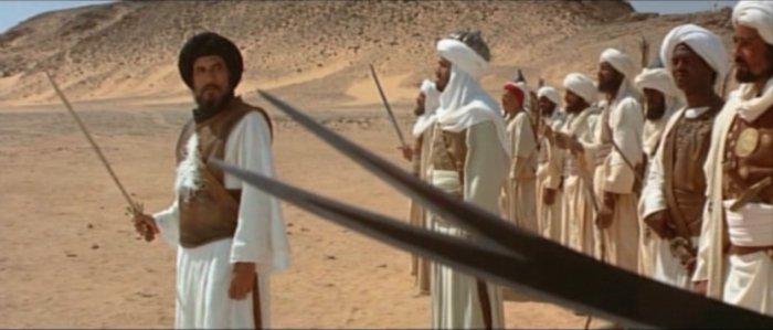 Petikan adegan dari film Ar-Risalah, karya Mustafa Akkad.